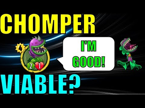 VIABLE DECK WITH CHOMPER? 12-3? | PvZ Heroes Party Tonight!