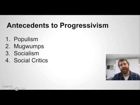 APUSH Progressive Era Part 1: Introduction to Progressivism