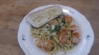 Shrimp Linguine And Garlic