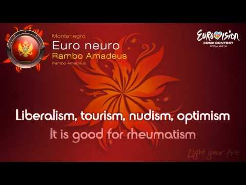 """Rambo Amadeus - """"Euro Neuro"""" (Montenegro)"""