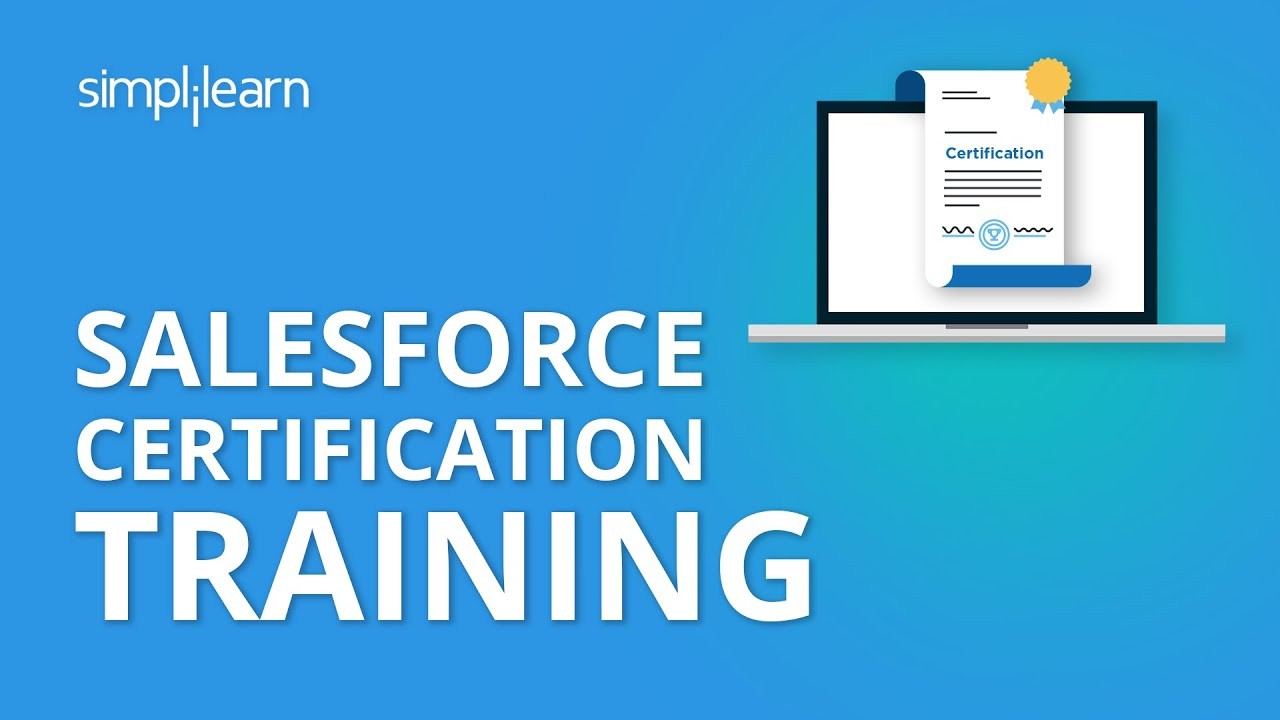 salesforce training certification