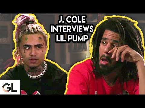 J. Cole Gets Emotional While Interviewing Lil Pump