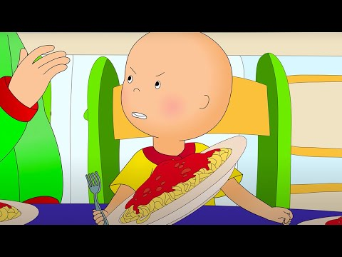 Caillou and Anger Management | Caillou Cartoon