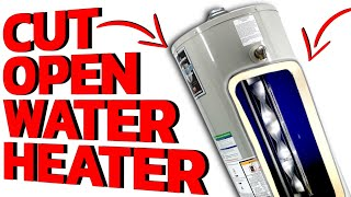 Ever Wonder What The Inside Of Your Water Heater Looks Like?