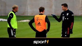 Lewandowski und Cuisance klären Trainings-Zoff | SPORT1 - DER TAG