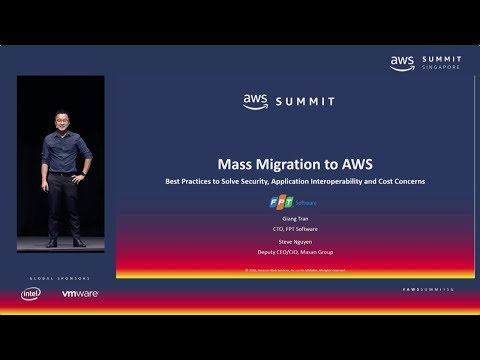 AWS Summit Singapore - Mass Migration to AWS: Best Practices to Solve Security