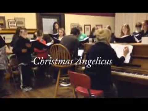 Christmas Angelicus 2013 Behind the Curtain