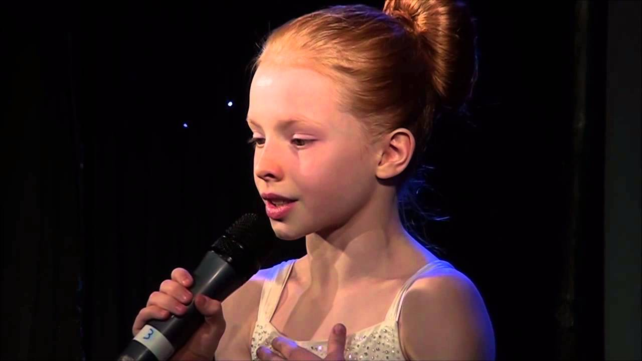 Feeling Good Nina Simone Performed By Ellie Botterill At Teenstar Singing Competition