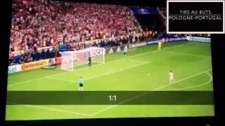Tirs au buts : POLOGNE - PORTUGAL