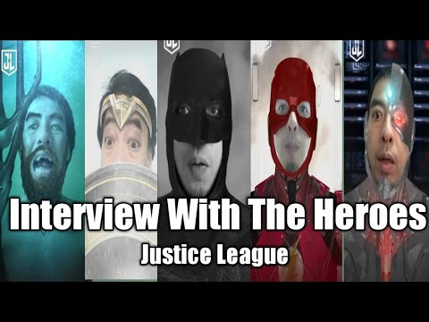 Interview With The Heroes Justice League (  Singapore Style )