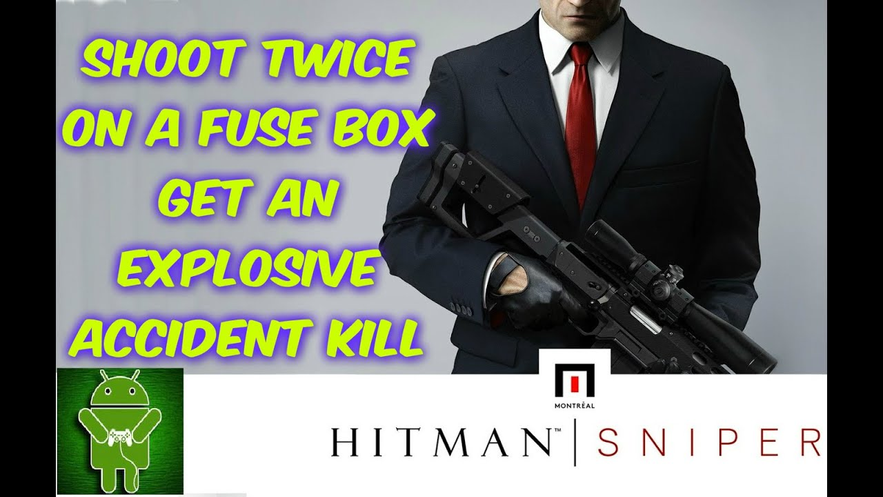 Hitman Sniper Mission 7 of 10 Shoot Twice On A Fuse Box Kill on