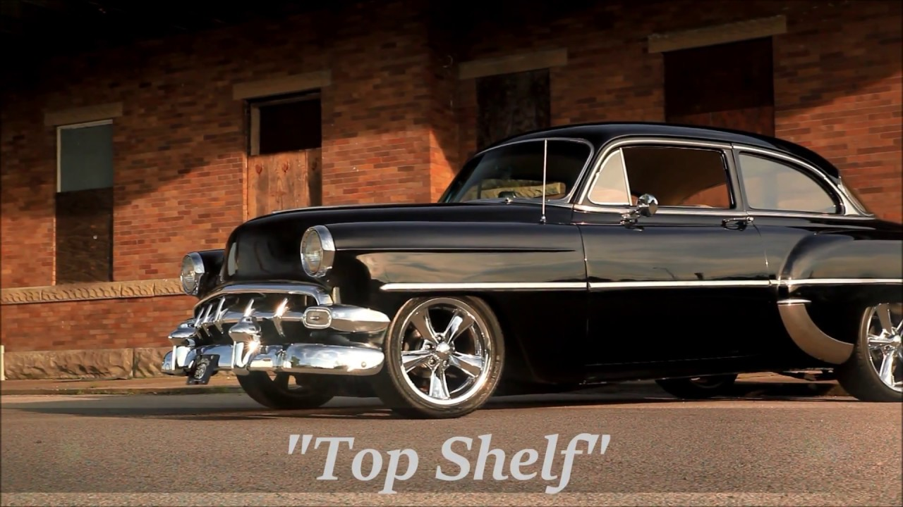 """Top Shelf"" 1954 Pro Touring Bel Air Hot Rat Street ..."