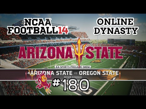NCAA Football 14: Online Dynasty - E180 | S6G6 vs Oregon State Beavers(Conference Game)