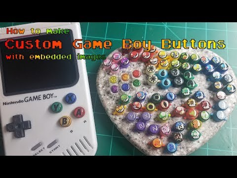 """How to make custom """"3D"""" Game Boy buttons with embedded images"""