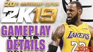NBA 2K19 NEW Gameplay Details!