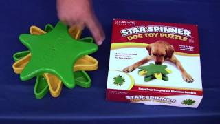 Dog Games Puzzle Toys - Star Spinner
