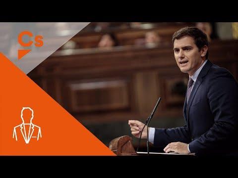 Albert Rivera. Intervención tras comparecencia del presidente Rajoy sobre Cataluña