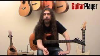 """Guitar Player Brasil - Edição #208 - Transcrição """"Morning Star"""", Vinnie Moore"""