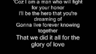 GLORY OF LOVE BY NEW FOUND GLORY