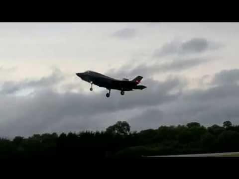 F-35B Lightning II Arrival at RAF Fairford