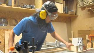 Tapering With A Sliding Table Saw