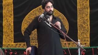 9 Muharram 2016 (1438) Zakir Waseem Abbas Baloch Rasul Nagar
