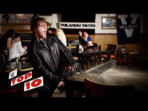 Top 10 Raw Moments: WWE Top 10, March 21, 2016