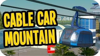 Cities: Skylines Green Cities ▶CABLE CAR MOUNTAIN RIDE◀ Cities Skylines Green Cities DLC #66