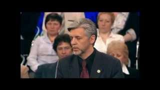 Лидер партии Великая Россия в дискуссии на 1 канале