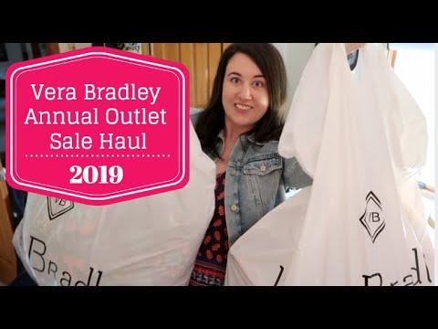 Vera Bradley Annual Outlet Sale Haul 2019