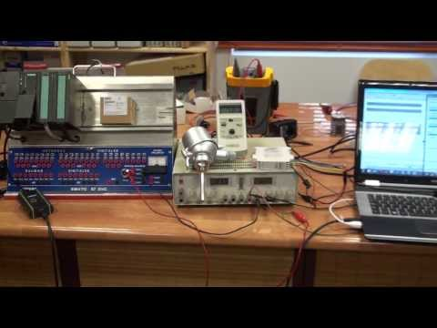 Medida temperatura con: Pt100 3 hilos, 4..20mA Sitrans TR300 HART y PLC S7-314 2DP (1/2)