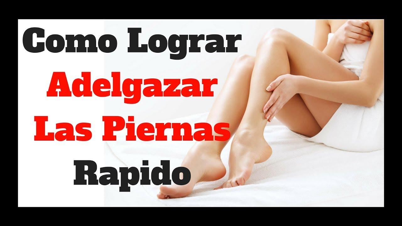 Como adelgazar de piernas rapidamente