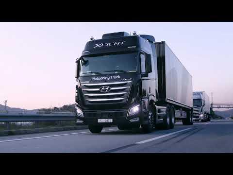 Hyundai camiones conduccion autonama
