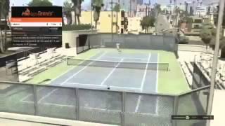 GTA 5 - Playing Tennis - Full Gameplay