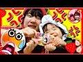 いちごママとこはるちゃんがケンカ!?お菓子を勝手に食べているのは誰だ!? アンパンマン おもちゃ いたずら赤ちゃん お菓子 アンパンマングミ ペロペロチョコ 仲直り ママコラボ#02