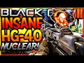 "INSANE ""HG-40"" NUCLEAR GAMEPLAY! New HG40 DLC Weapon Nuclear Gameplay on ""NUKETOWN""! (BO3 DLC Gun)"