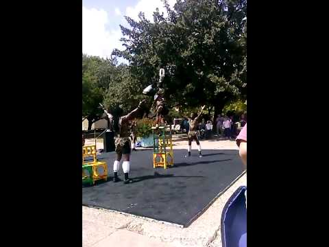 MAPAPA African Acrobats at State Fair of Texas '14