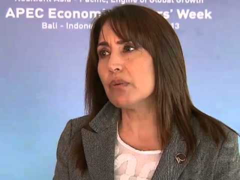 Blanca Silva Velarde-Alvarez, Minister of Foreign Commerce, Peru
