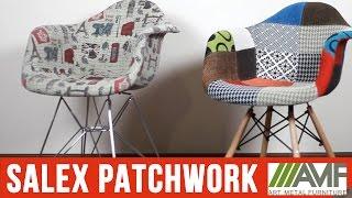 Кресло Salex FB Wood Patchwork. Стулья для кафе, баров и ресторанов от AMF(Стул Salex FB Wood - это кресло для столовой со спинкой на деревянных ножках. Подробнее: http://amf.com.ua/kreslo_salex_fb_wood_patchwor..., 2016-05-18T16:46:51.000Z)