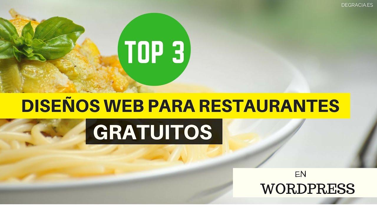 Cómo hacer una web para Restaurantes - Wordpress (2017) - YouTube