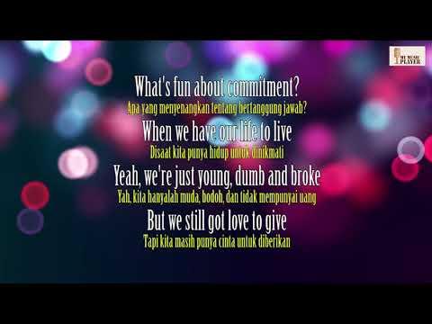 Khalid Young Dumb & Broke  Video Lirik & Terjemahan Indonesia