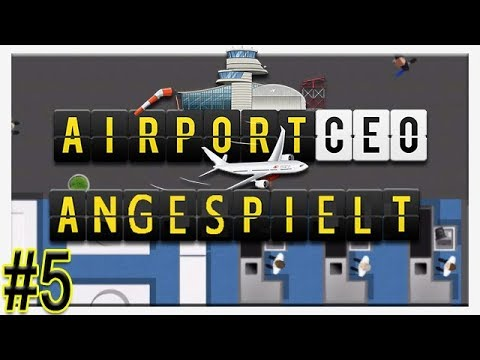 Duty Free | Angespielt #5 | Let's Play AirportCEO | [HD] | Deutsch Cigar0