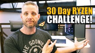 Video Editing on the Ryzen 1800X - 30 Day Ryzen Challenge