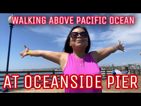 One Beautiful Day at Oceanside Beach Pier - San Diego