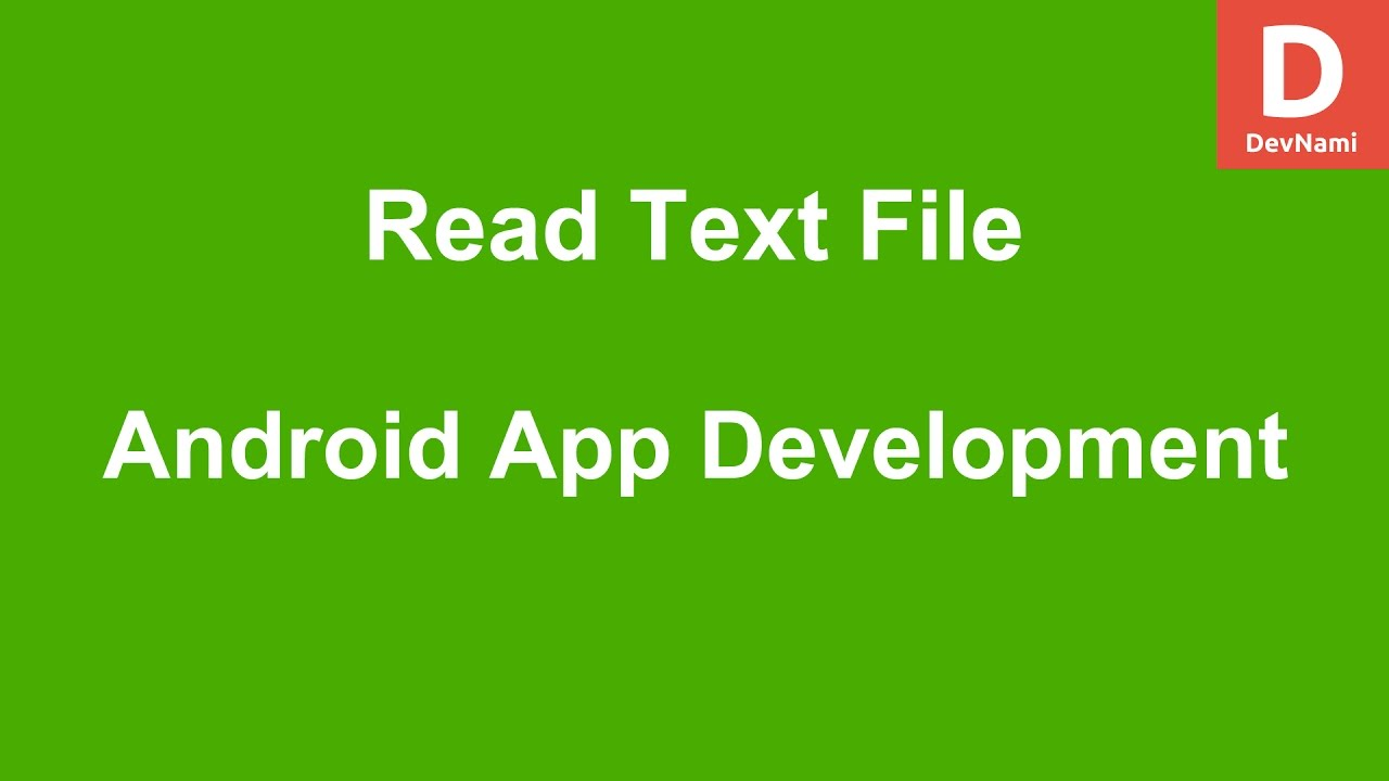 how to create text file in android