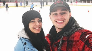 Ice Skating with the Girlfriend