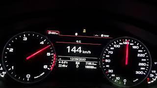 Audi A7 3.0 TDI 0-200km/h 제로백 …