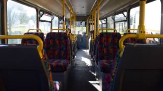 preserved ex go north east volvo b10ble 4855 r855 prg