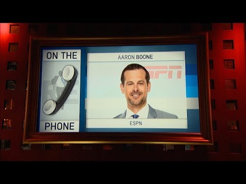 ESPN's Aaron Boone Talks MLB Playoffs & More | Full Interview | The Rich Eisen Show | 10/3/17