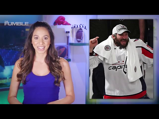 STANLEYSCUPS  Woman flashes Capitals during Stanley Cup celebration ... 5b82c717e708